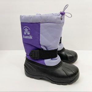 KAMIK Winter Snow Boots Purple Toddler 12